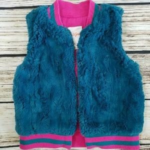 Cat & Jack 4-5y fur vest